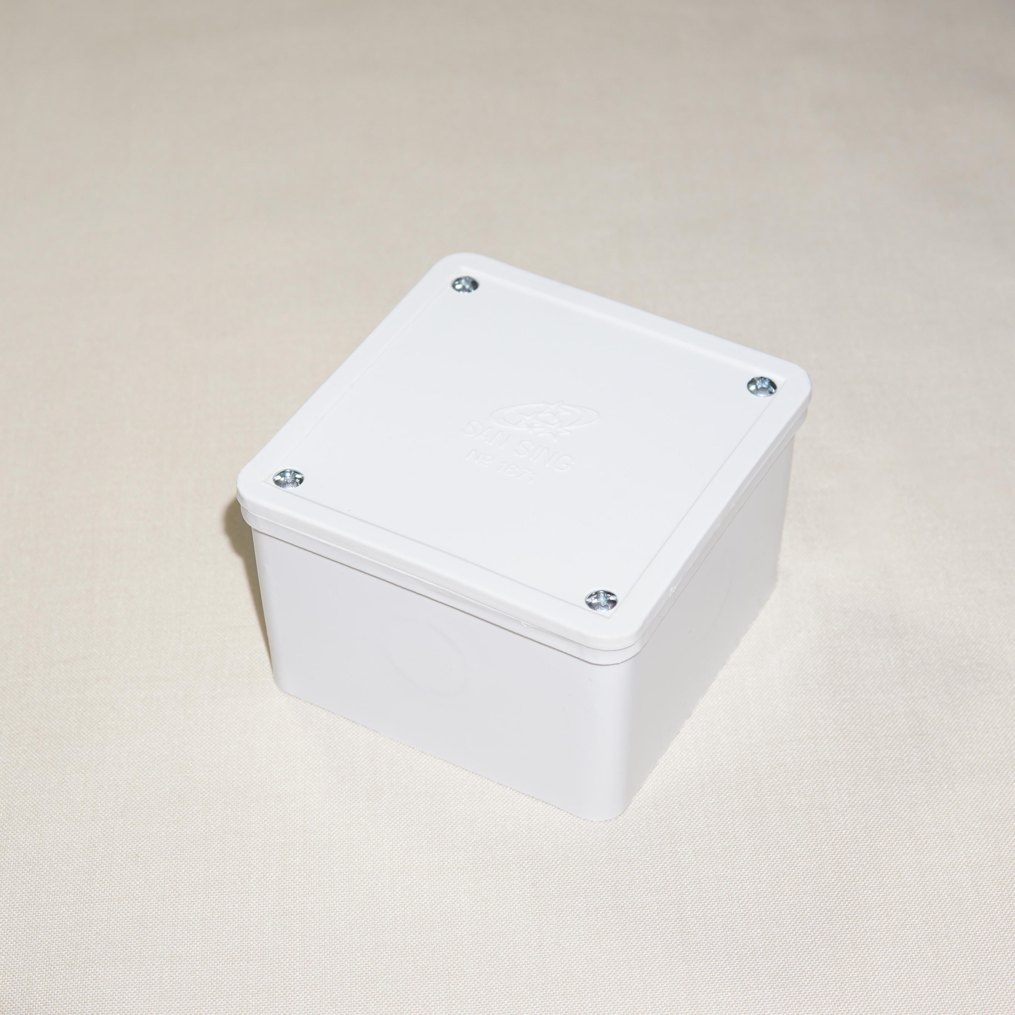 Hộp vuông nối dây <br>(80x80x50)mm